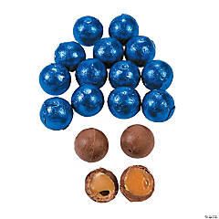 Royal Blue Caramel Chocolate Balls