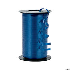 Royal Blue Curling Ribbon on Roll