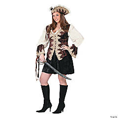 Royal Lady Pirate Plus Size for Women
