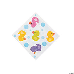 Rubber Ducky Beverage Napkins