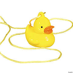 Rubber Ducky Necklaces