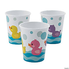Rubber Ducky Paper Cups
