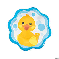 Rubber Ducky Paper Dinner Plates