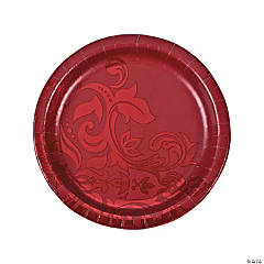 Ruby Anniversary Dinner Plates
