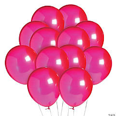 "Ruby Red 11"" Latex Balloons"