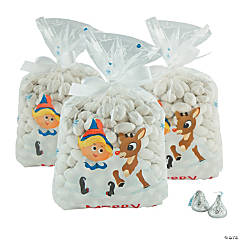 Rudolph the Red-Nosed Reindeer<sup>&#174;</sup> Christmas Cellophane Bags