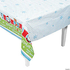 Rudolph the Red-Nosed Reindeer<sup>&#174;</sup> Christmas Plastic Tablecloth