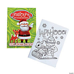 Rudolph the Red-Nosed Reindeer<sup>&#174;</sup> Coloring Books