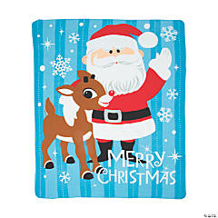 Rudolph the Red-Nosed Reindeer<sup>&#174;</sup> Fleece Throw