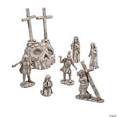 Rugged Cross Scene