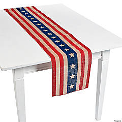 Rustic 4th of July Table Runner