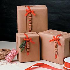 Rustic Christmas Ornaments Idea
