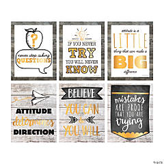 Rustic Classroom Posters
