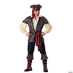 Rustic Pirate Adult Men's Costume
