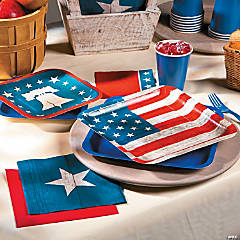Rustic 4th of July Party Supplies
