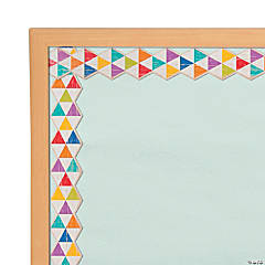 Rustic Triangle Bulletin Board Borders