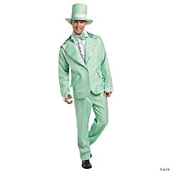 70s Funky Tuxedo Pastel Green Adult Men's Costume