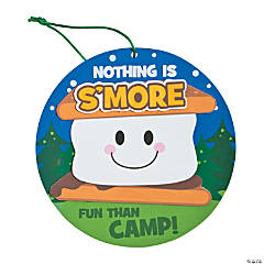 S'more Fun Camp Sign Craft Kit