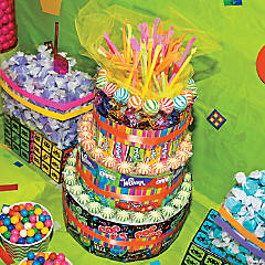 80's Party Candy Cake Idea