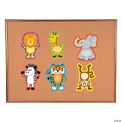 Safari Animal Bulletin Board Cutouts