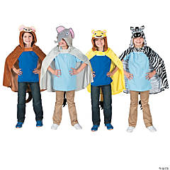 Safari Animal Hooded Capes