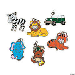 Safari Enamel Charms