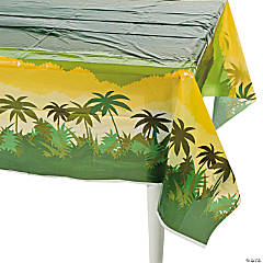 Safari Plastic Tablecloth