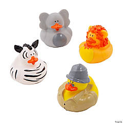 Safari Rubber Duckies
