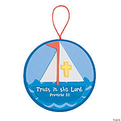Sailboat with Inspirational Verse Craft Kit
