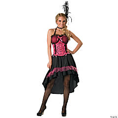 Saloon Gal Plus Size Adult Women's Costume