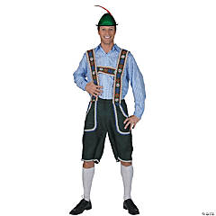 Salzberg Pants With Suspenders Costume For Men