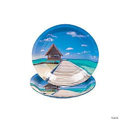 Sand & Sun Paper Dessert Plates