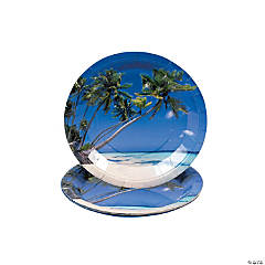 Sand And Sun Paper Dinner Plates