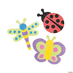 Sand Art Bug Magnet Craft Kit