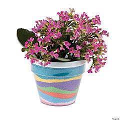 Sand Art Flowerpots