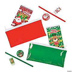 Santa & Reindeer Christmas Stationery Sets