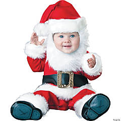 Santa Baby Infant/Toddler Kid's Costume