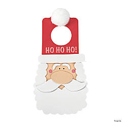 Santa Doorknob Hanger Craft Kit
