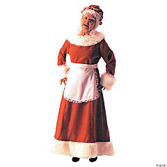 Santa Dress Long Adult Women's Costume