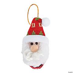 Santa Jingle Bell Ornaments