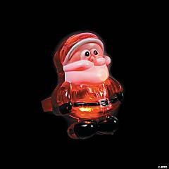 Santa Light-Up Rings