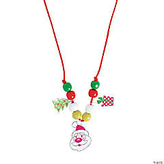 Santa Necklace Craft Kit