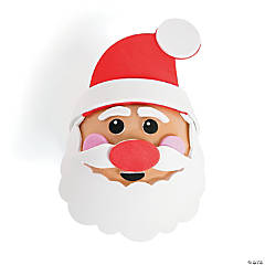 Santa Ornament Decorating Craft Kit