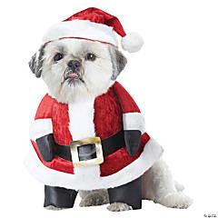 Santa Paws Dog Costume