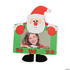 Santa Picture Frame Magnet Craft Kit