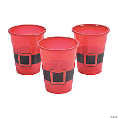 Santa Plastic Cups