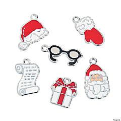 Santa's List Enamel Charms