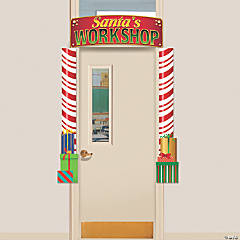 Santa's Workshop Door Border