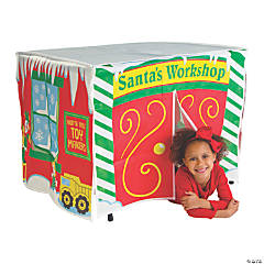 Santa's Workshop Table Tent