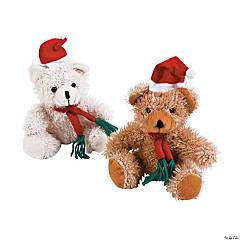 Santa Stuffed Bears